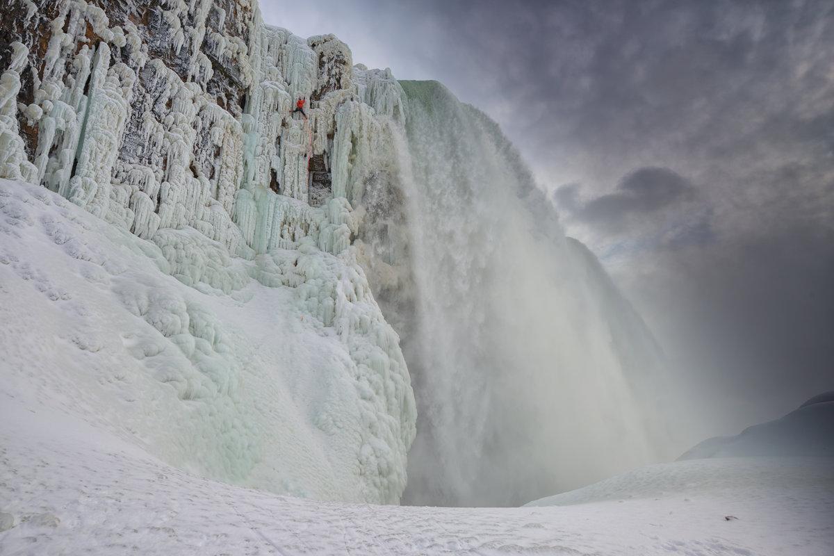 Resultado de imagen para cataratas del niagara congelada