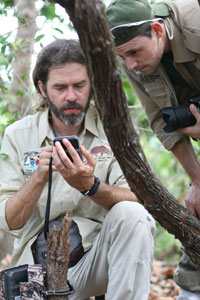Arnaud Desbiez - The Pantanal Giant Armadillo Project