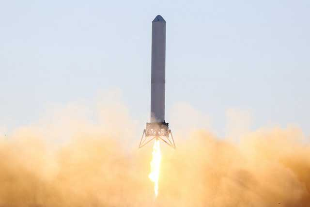 Grasshopper de SpaceX