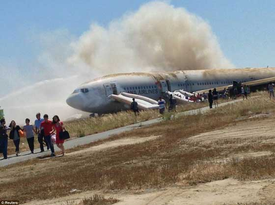 accidente avión Asiana San Francisco