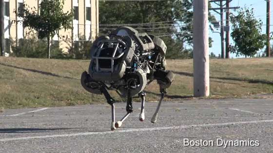 robot WildCat de Boston Dynamics