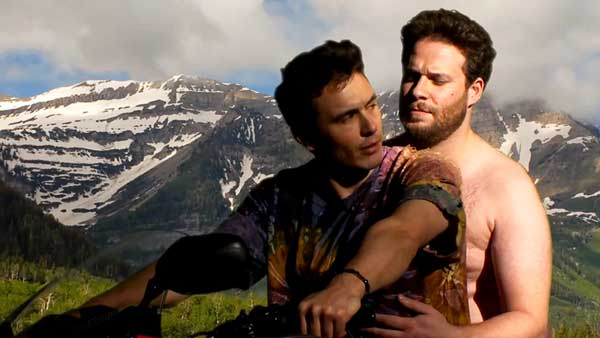 James Franco y Seth Rogen parodian el vídeo de Kanye West