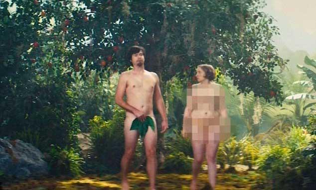 Lena Dunham De Girls Desnuda En El Jardín Del Edén Vídeo