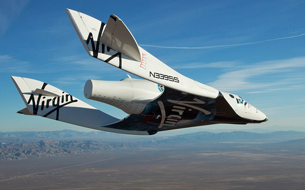 SpaceShipTwo de Virgin Galactic