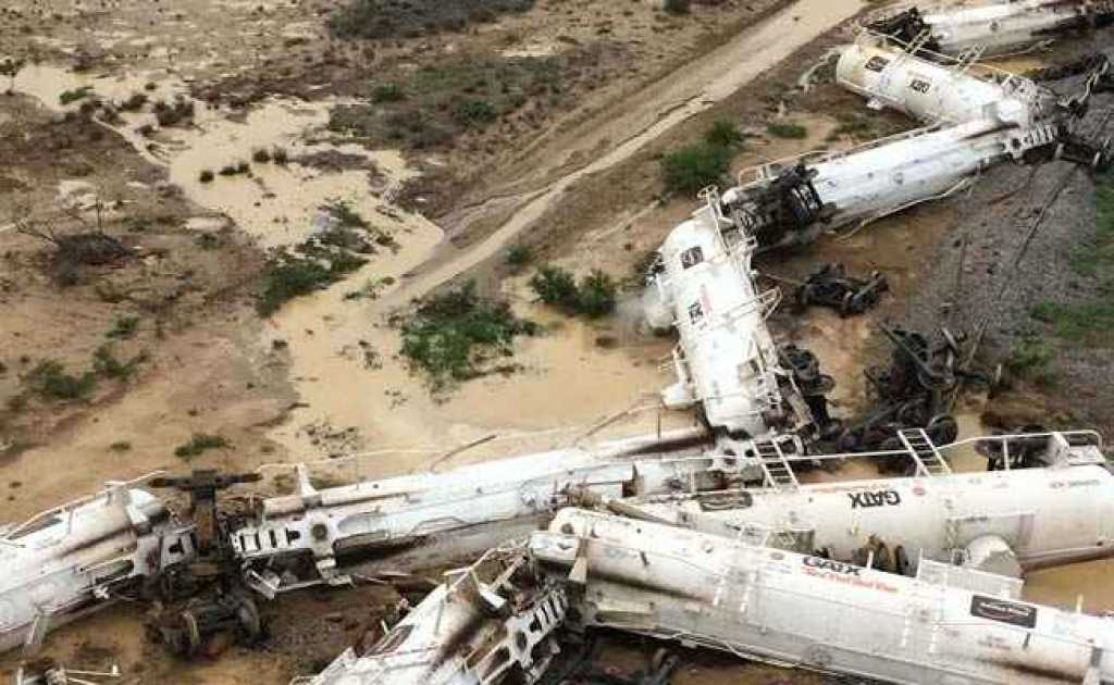 El tren ha descarrilado en una zona rural del noroeste de Queensland