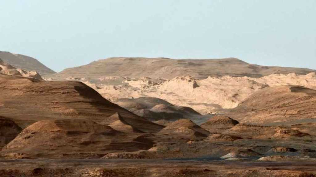 Mount Sharp, Marte