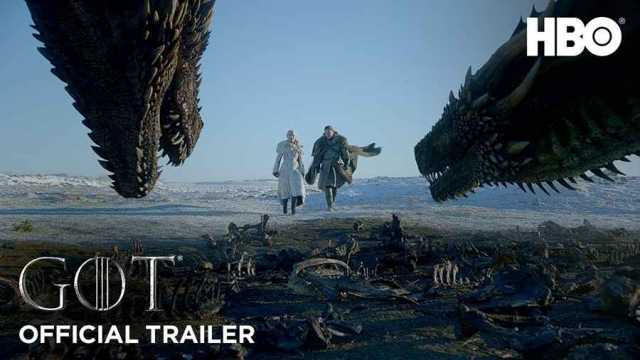 Game of Thrones Season 8, tráiler