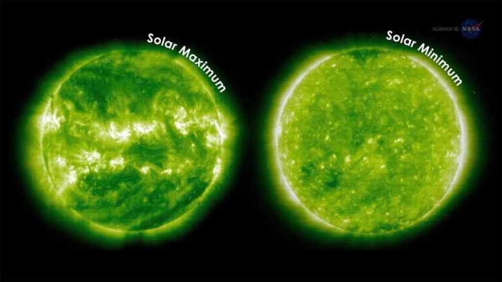 Durante el mínimo solar se  abren capas en el magnetismo del Sol