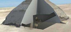 Revelado el interior de una pirámide usando rayos cósmicos