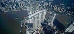 El asombroso 'rascacielos horizontal' de China se abre a los visitantes