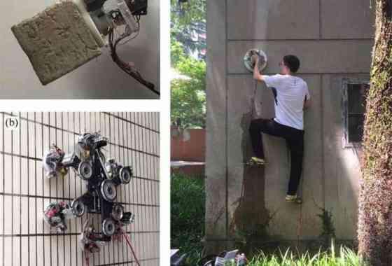 Pinzas robóticas estilo Spider-Man desafían la gravedad