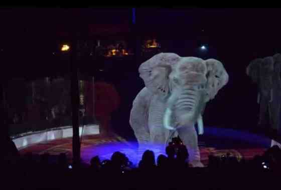 Un circo alemán utiliza impresionantes hologramas en lugar de animales vivos