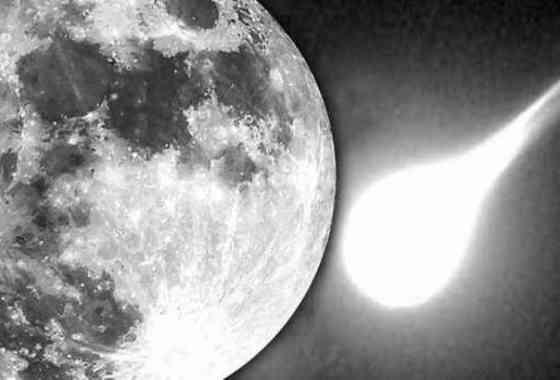 Captan una enorme explosión por un meteorito en la Luna