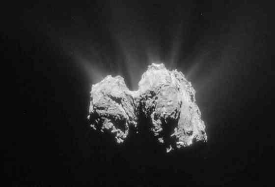 Rosetta registra un estallido en el cometa