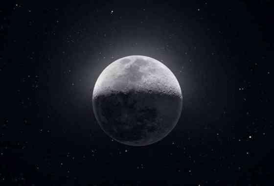 Esta impresionante imagen de 81 megapíxeles de la Luna se hizo a partir de 50.000 fotos