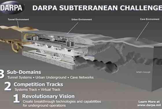 Profundiza: Concurso DARPA tiene como objetivo llevar a las personas bajo tierra