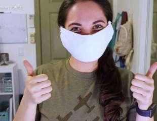 Las mascarillas faciales podrían funcionar como una improvisada vacuna contra la COVID-19