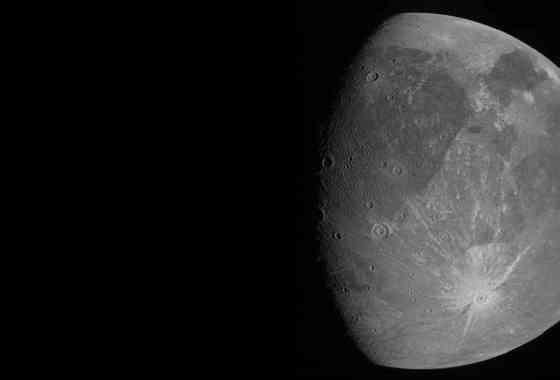 Las imágenes más cercanas de Ganímedes, la luna mas grande de Júpiter