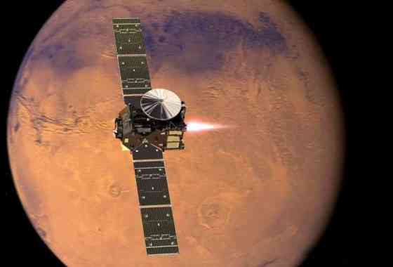 TGO de ExoMars alcanza la órbita de Marte