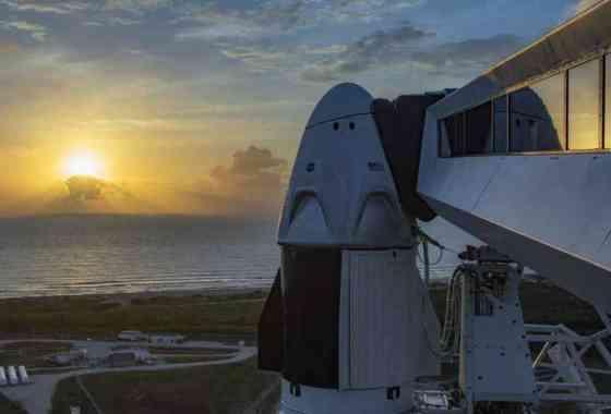 Sigue en directo a las 22:33 horas el lanzamiento de la nave Crew Dragon de SpaceX