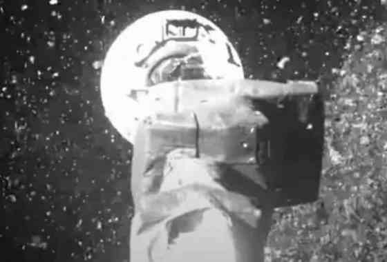 Las espectaculares imágenes de la NASA aterrizando en el asteroide Bennu
