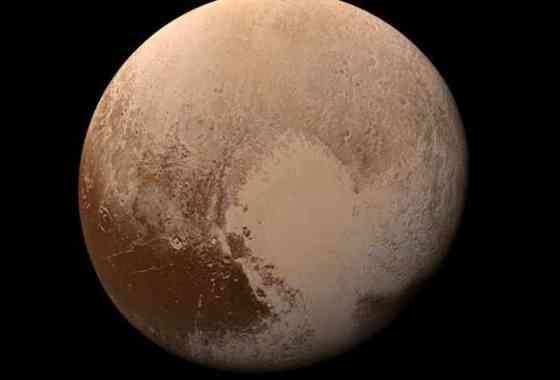 Un colorido 'aterrizaje' en Plutón