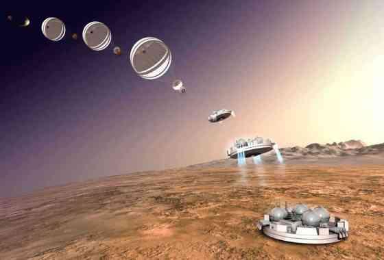 El descenso de Schiaparelli a Marte en tiempo real