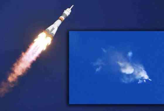 Astronautas a salvo después del fallido lanzamiento de la Soyuz (vídeo del accidente)