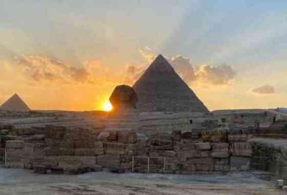 El equinoccio revela uno de los secretos de la icónica Esfinge de Egipto