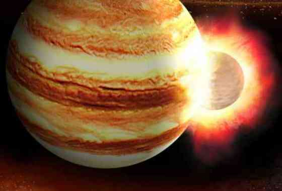 Júpiter pudo haber absorbido un planeta completamente distinto en un choque gigantesco