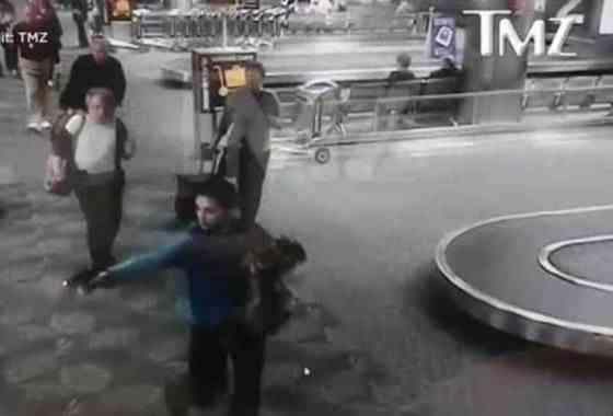 Un vídeo muestra la sangre fría del atacante en el aeropuerto de Fort Lauderdale/Hollywood