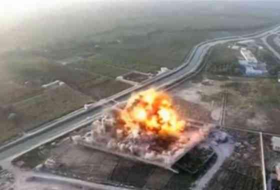 Talibanes publican vídeo-drone de ataque suicida con un Humvee