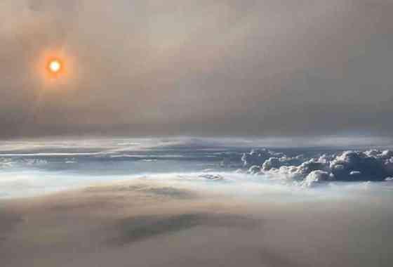 Impresionantes fotos revelan el fenómeno extremadamente raro de una 'nube de fuego'