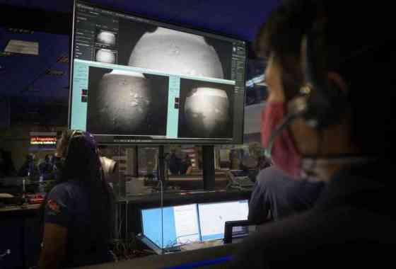 Touchdown: el rover Perseverance de la NASA listo para buscar vida en Marte