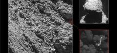 Rosetta encuentra en el cometa al perdido aterrizador Philae
