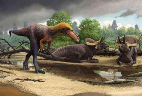 Cuando los tiranosaurios eran minúsculos