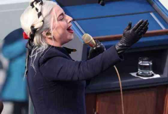 La poderosa interpretación de Lady Gaga del himno nacional en la toma de posesión de Joe Biden