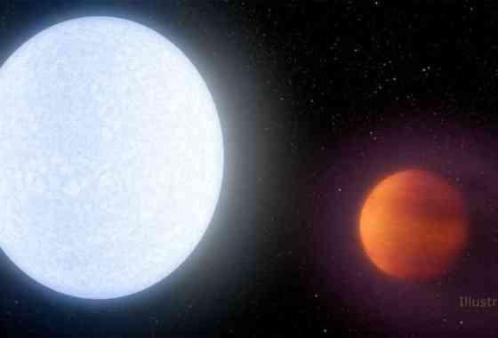 Este planeta es tan extremadamente caliente que está destrozando su propia atmósfera