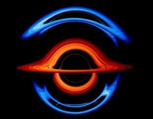Alucinante visualización de la NASA muestra la salvaje deformación de los agujeros negros binarios