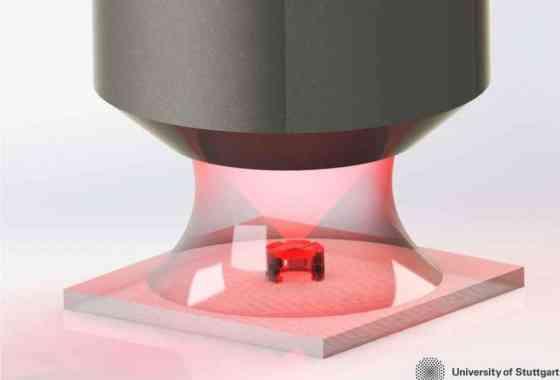 Minúsculas lentes impresas en 3D ayudarán a los robots a ver como águilas