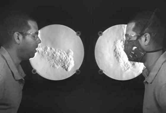 Demostración de que las mascarillas realmente funcionan contra el coronavirus