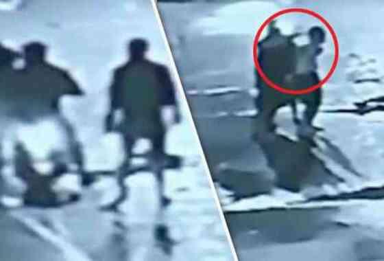Horrible momento: vigilantes ejecutan a un narcotraficante en la calle de una ciudad en Filipinas