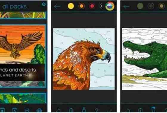 App de colorear gratis de Planeta Tierra II