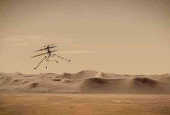 Inesperadamente el helicóptero Ingenuity puede continuar con más vuelos