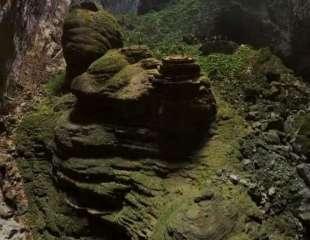 Drone captura la inquietante belleza de la cueva más grande del mundo