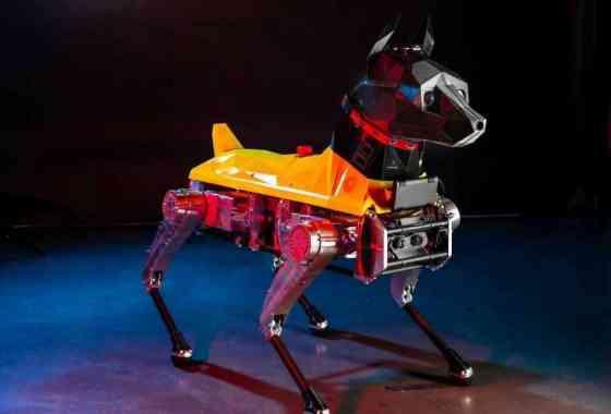 Ingenieros presentan a Astro, el perro robot