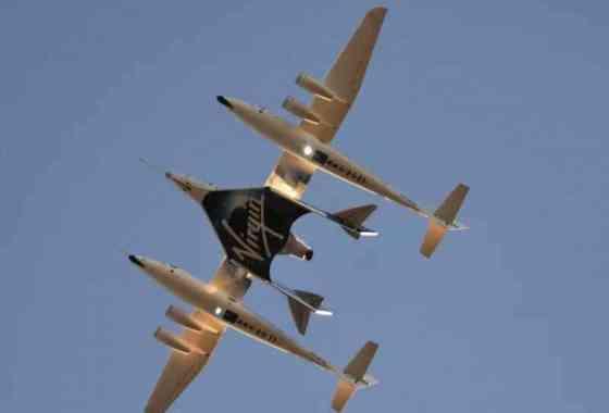 Sigue en directo el despegue del primer vuelo de pasajeros de Virgin Galactic con Richard Branson a bordo