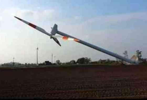 Esto parece la forma incorrecta de retirar una turbina de viento
