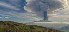Etna de Italia: Espectacular erupción, la mayor en 20 años
