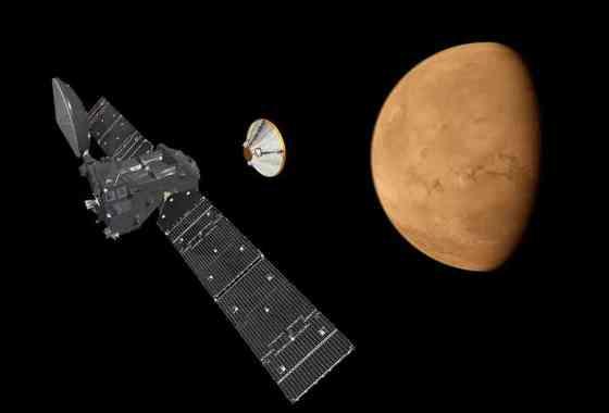 Imágenes detalladas del lugar del impacto de Schiaparelli en Marte